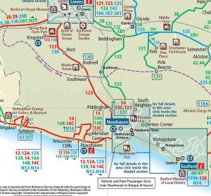 Bus Routes Map 123 etc