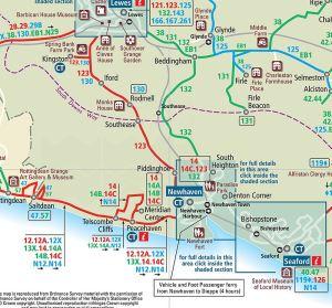Bus Routes Map 123 etc