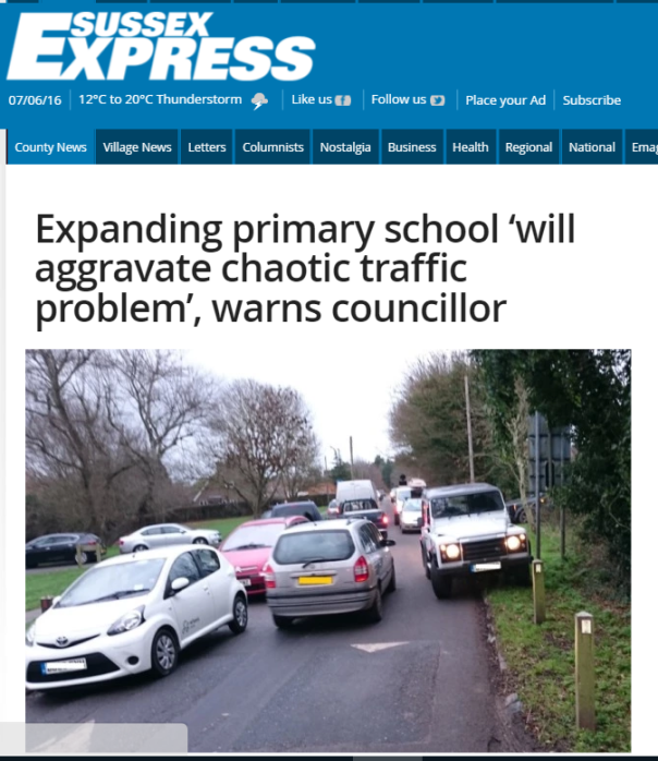 Kingston School Pic Sussex Express